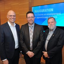 Polytechnique Montréal inaugure deux chaires en enseignement et apprentissage du génie
