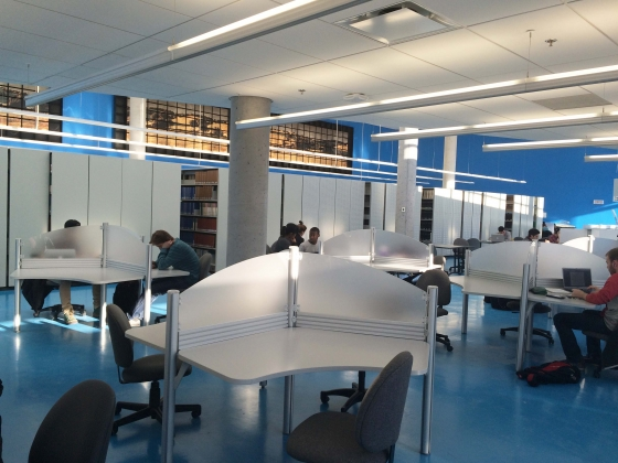 2 étage de la Bibliothèque