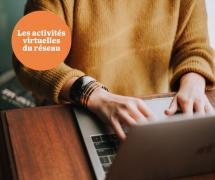 """Les événements virtuels du réseau """"Place aux jeunes en région"""""""