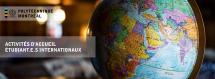 Activité de socialisation pour étudiants internationaux