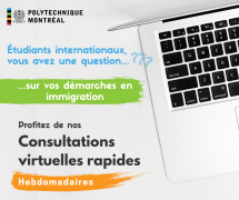 **Online** Quick virtual consultations for international students