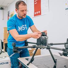 Démarrage d'un projet pour rendre les drones autonomes
