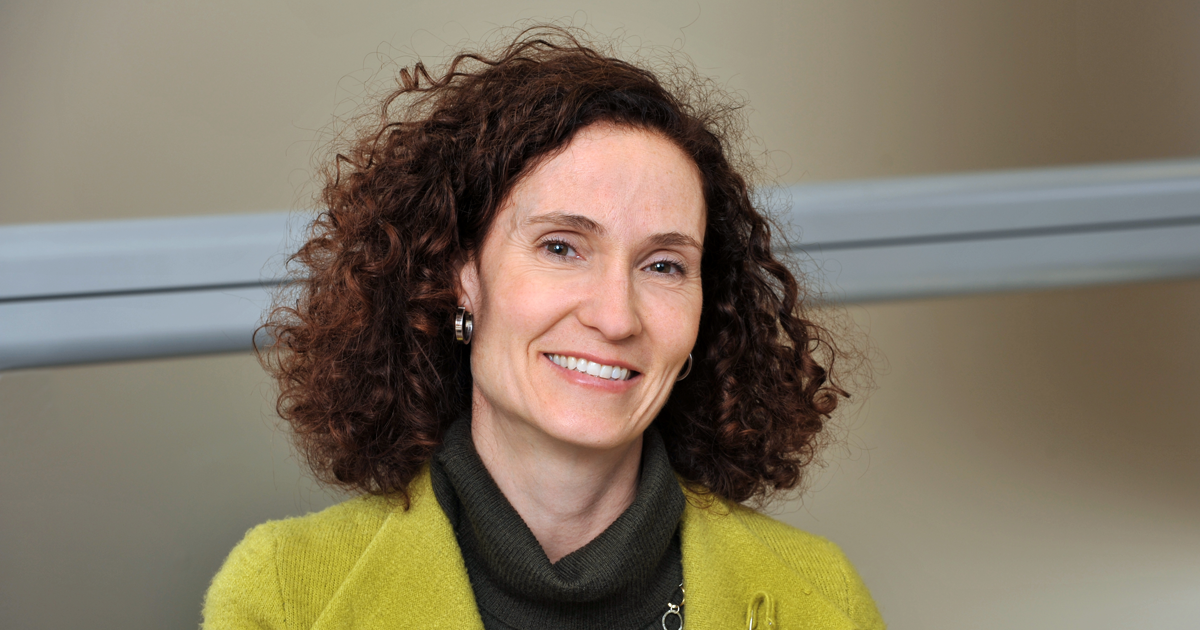Catherine Beaudry, full professor in the Department of Mathematics and Industrial Engineering at Polytechnique Montréal and holder of the Canada Research Chair in Creation, Development and the Commercialization of Innovation.