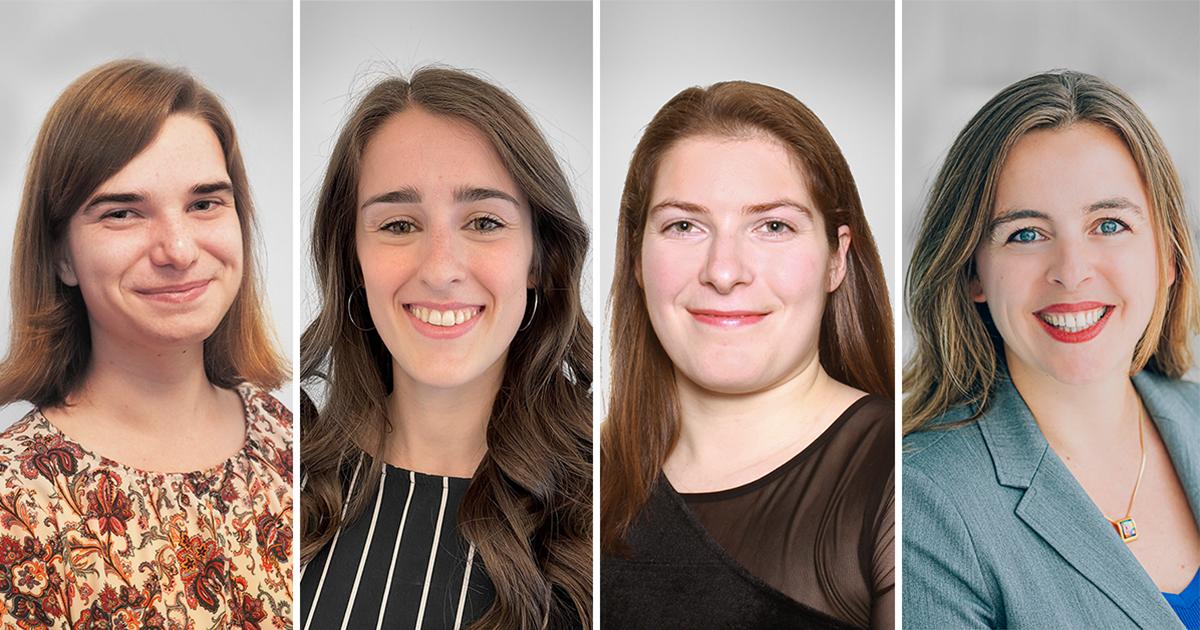 Concours « chapeau, les filles! » : quatre polytechniciennes récompensées
