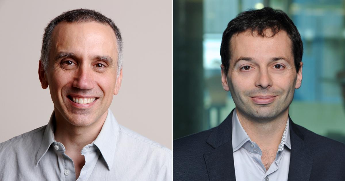 Charles Audet et Sébastien Le Digabel, professeurs titulaires au Département de mathématiques et de génie industriel.