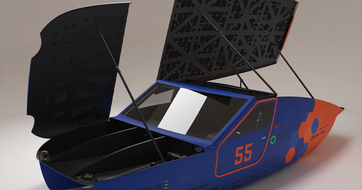 Habitacle du véhicule Esteban 10