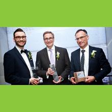 Les lauréats du 40e Gala Prix Mérite 2019 de la Fondation et Alumni de Polytechnique Montréal.