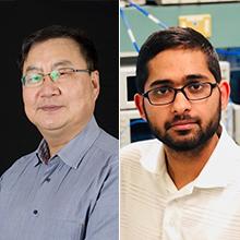 Ke Wu, professeur titulaire au Département de génie électrique; Intikhab Hussain, doctorat en génie électrique.