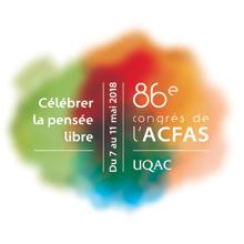 Logo du 86e Congrès de l'Acfas
