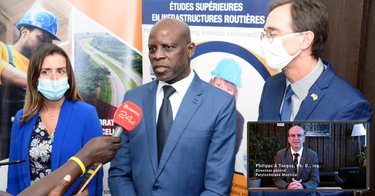 Lancement du programme de maîtrise en gestion des infrastructures routières en Côte d'Ivoire