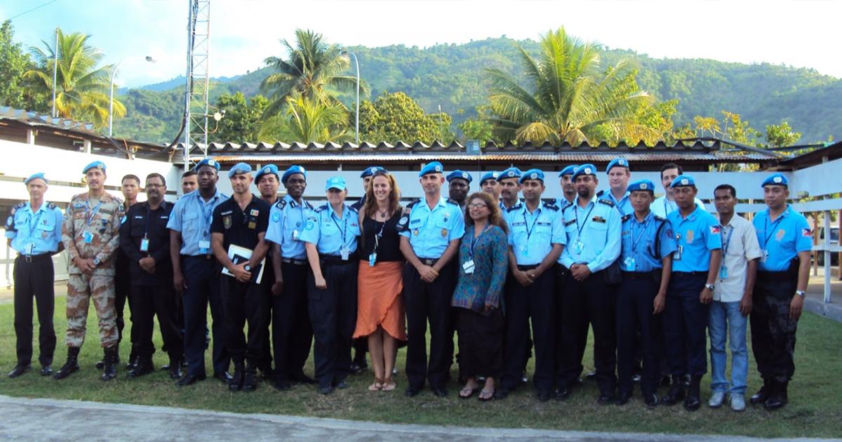 Mission d'Elyse Ruest-Archambault au Timor Leste