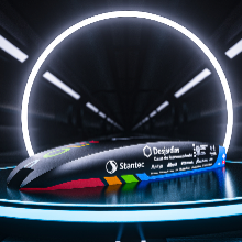 La société technique PolyLoop de Polytechnique dévoile le design de «CLARK-1», la première capsule Hyperloop québécoise
