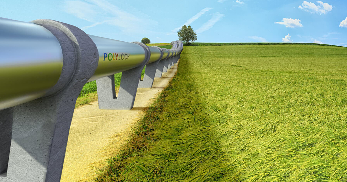 Projet de piste Hyperloop à Montréal