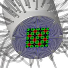Un projecteur de pixels liquides pour traiter des surfaces avec précision
