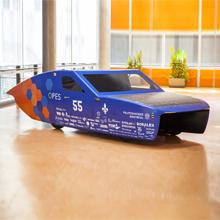 Voiture solaire : la société technique Projet Esteban présente son premier prototype à deux places