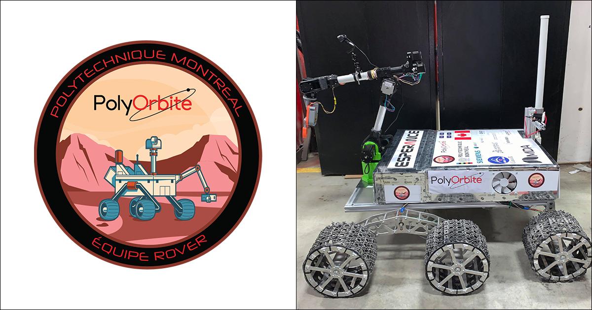 L'astromobile Espérance de la société technique PolyOrbite. (Photo : PolyOrbite)