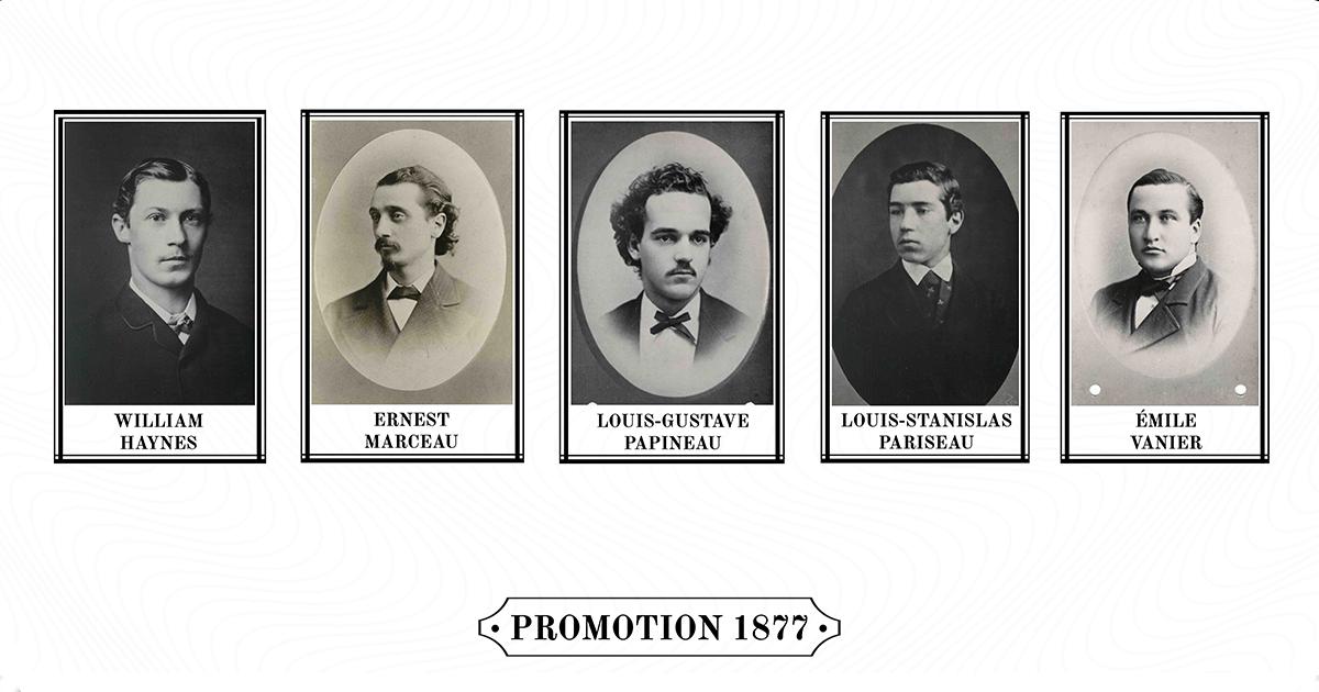 Premiers diplômés de Polytechnique en 1877
