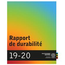 Rapport de durabilité 2019-2020 de Polytechnique Montréal