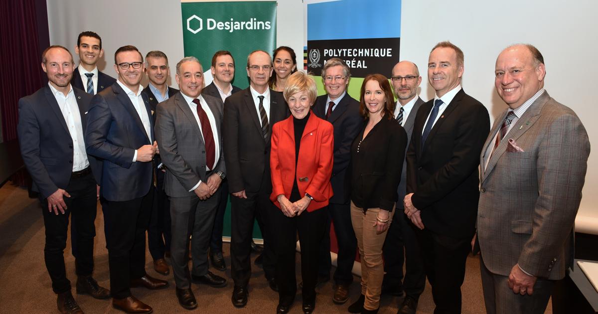 Les dignitaires présents aux Rendez-vous socio-économiques de Polytechnique Montréal