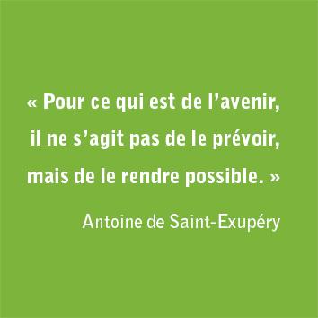 Citation de Saint-Exupéry