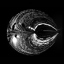 Les « étoiles » microfluidiques de Pierre-Alexandre Goyette remportent le prix du jury CRSNG au concours La preuve par l'image de l'Acfas