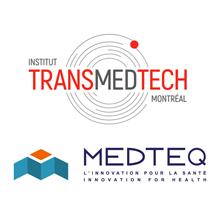 Logos de l'Institut TransMedTech et de MEDTEQ