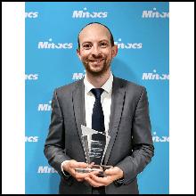 Entrepreneuriat : un chercheur postdoctoral de Polytechnique Montréal remporte un prix Mitacs