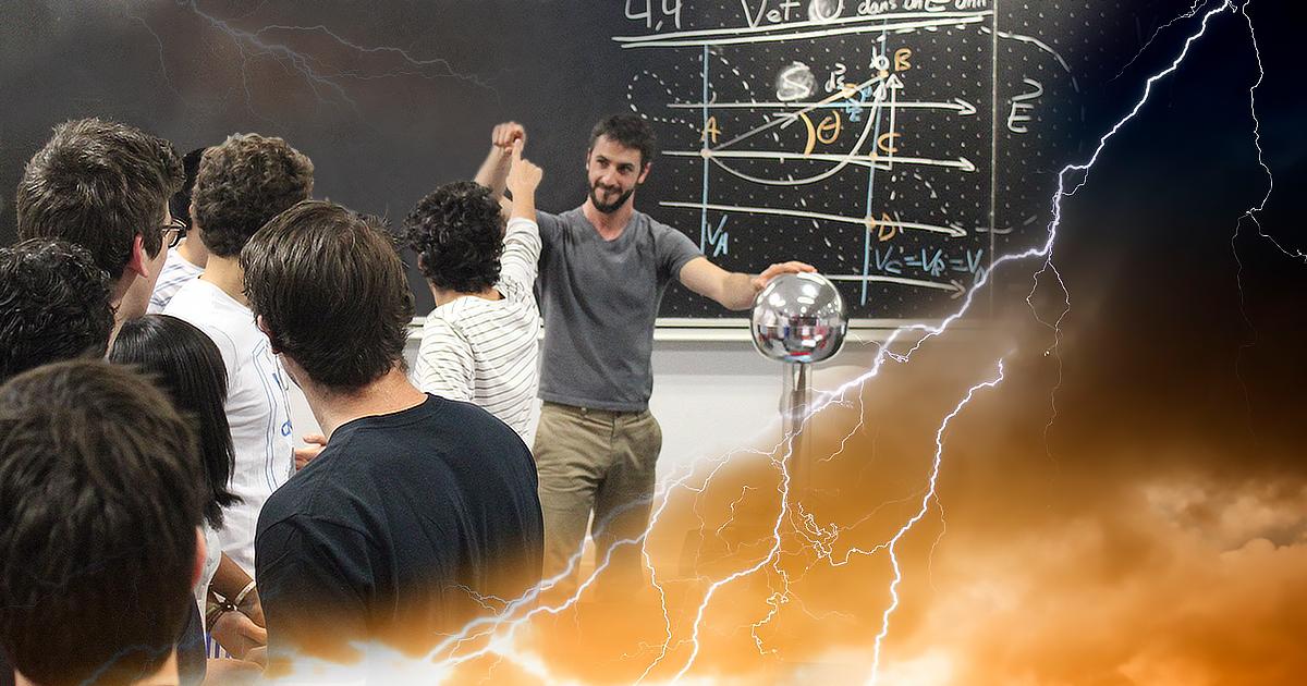 Représentation du cours en ligne gratuit ouvert à tous «Électricité et magnétisme, un duo de génie I