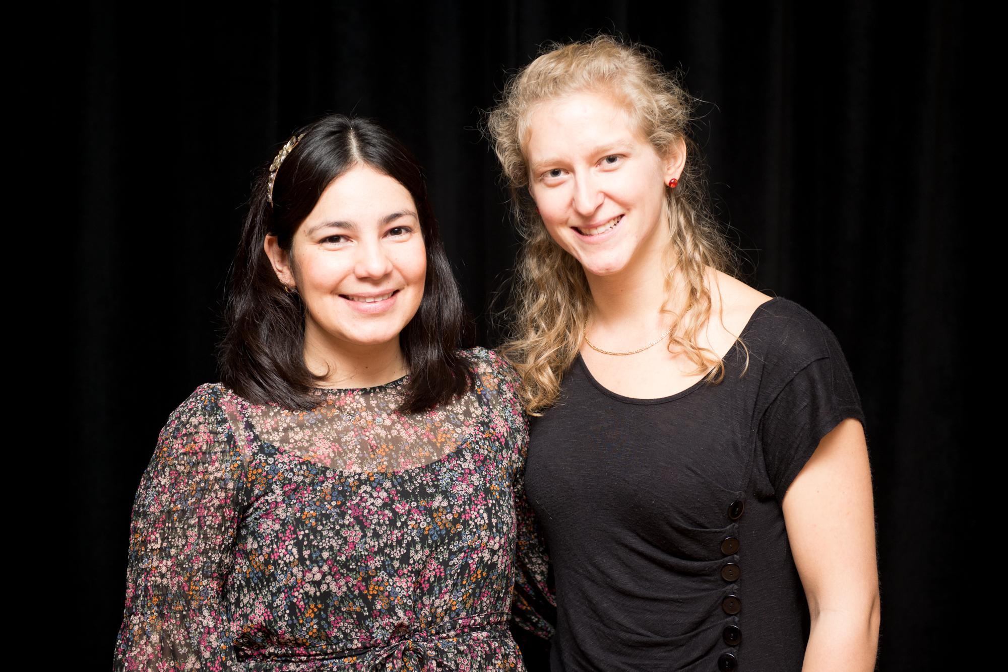 Nury Ardila et Christine Beaulieu