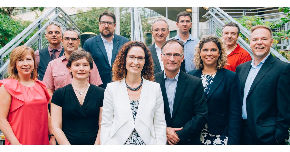 Les participants de Polytechnique Montréal au projet 4POINT0, sous la direction de la professeure Catherine Beaudry.