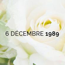 Six décembre 2018 - 29 ans après - Souvenir et recueillement