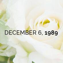 December 6, 1989