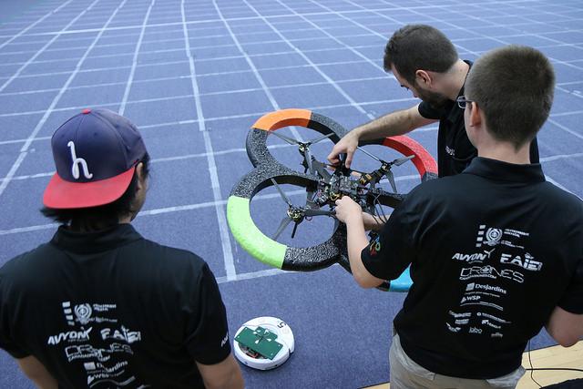 Le drone Elikos de Polytechnique Montréal
