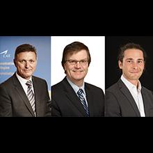 Des honneurs à Marc Parent, Pierre Boucher et Antoine Sirard au Gala Prix Mérite 2016 de l'Association des diplômés de Polytechnique