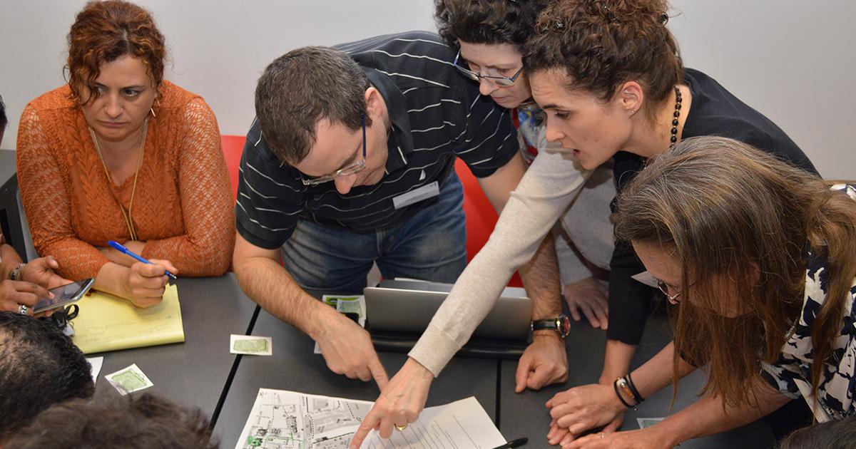 Des participants à un atelier de la 12e Journée de l'enseignement et de l'apprentissage à Polytechnique Montréal.