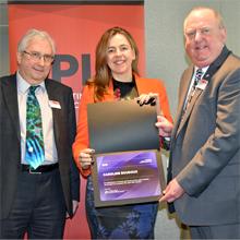 La professeure Caroline Boudoux reçoit le titre de Fellow de la société SPIE