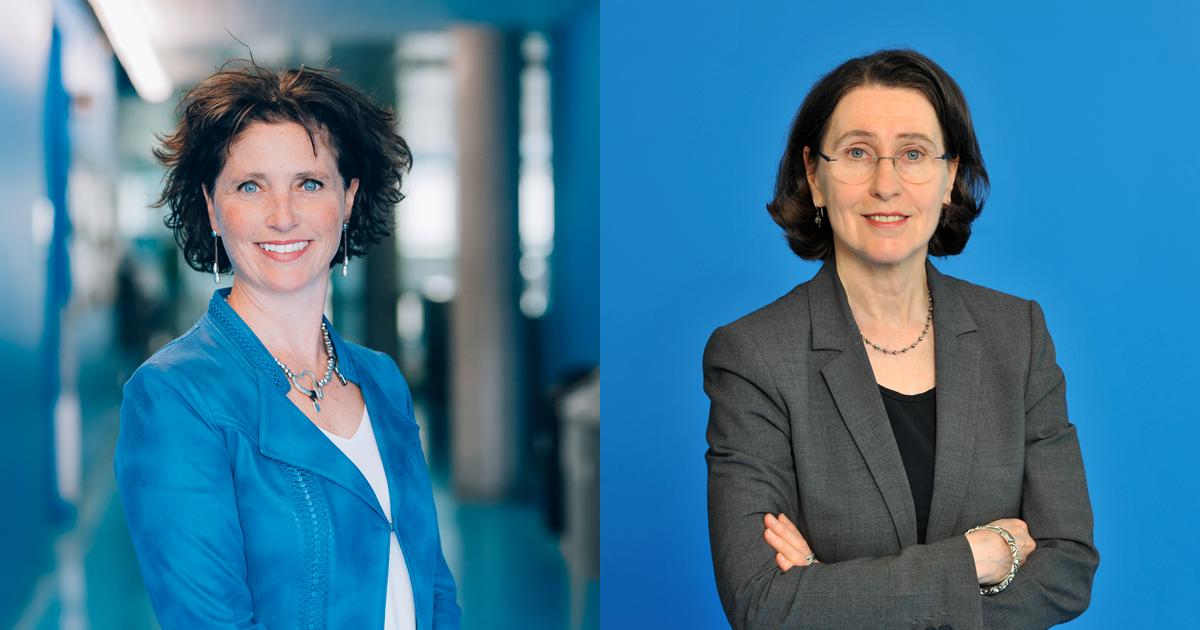 Les professeures Catherine Morency et Louise Millette