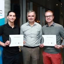 Deux étudiants de Polytechnique Montréal remportent les honneurs du concours Innovinc. RBC – Esquissez 2017