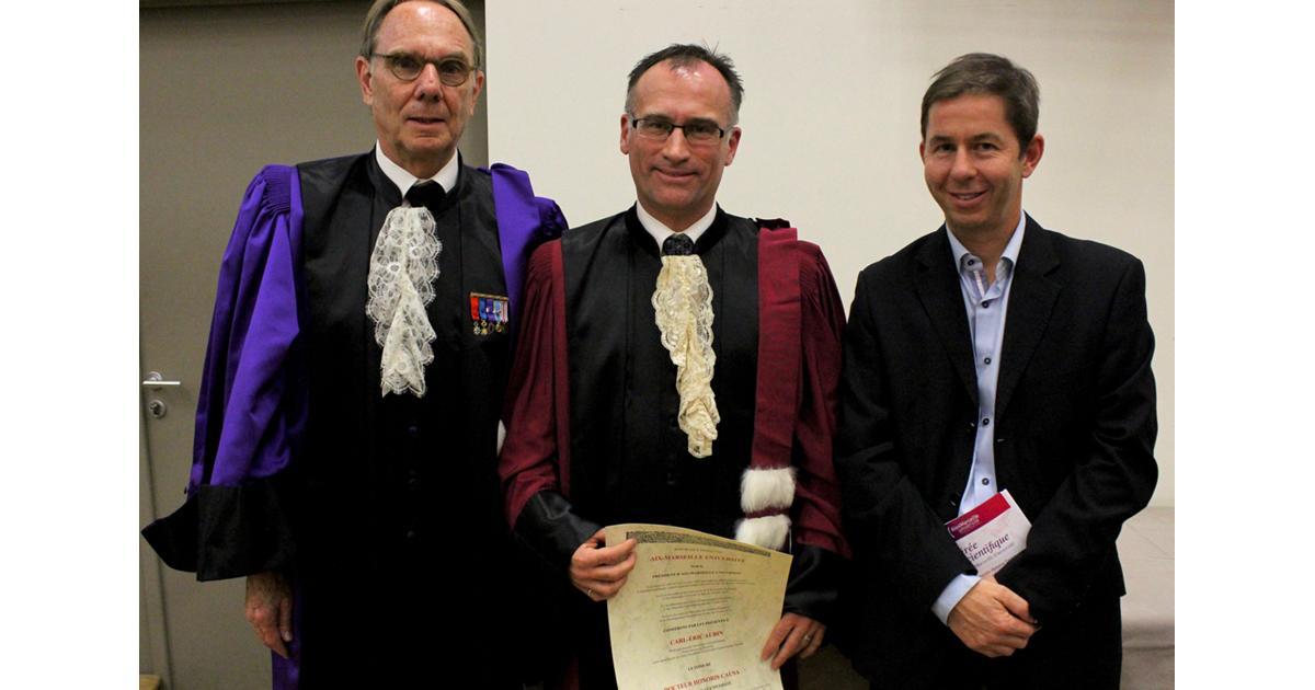 Yvon Berland, Carl-Éric Aubin, Pierre-Jean Arnoux