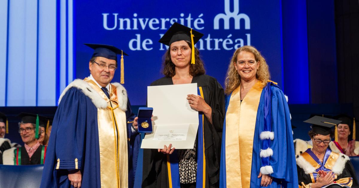 Guy Breton, Dominique Claveau-Mallet, l'Honorable Julie Payette