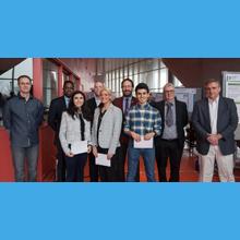 Les lauréats du groupe 1 du cours ELE3000 à la session de l'hiver 2019 à Polytechnique Montréal