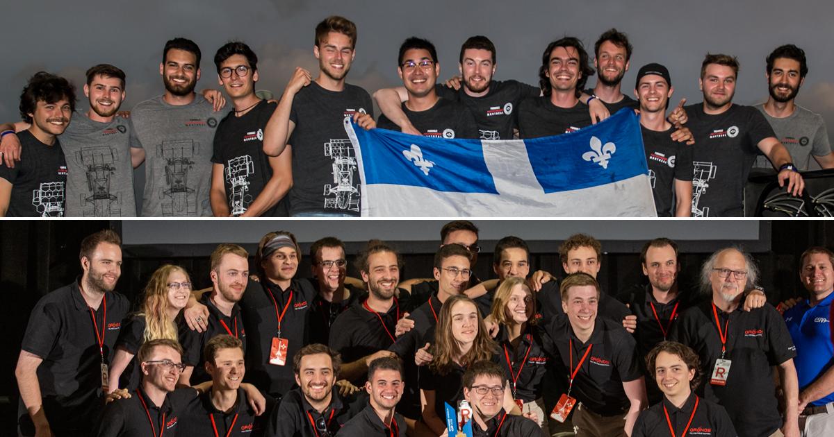 Les sociétés technique Formule Polytechnique Montréal et Oronos Polytechnique.