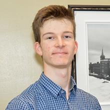 Frédéric Larocque, lauréat d'une bourse d'études Schulich Leaders 2017