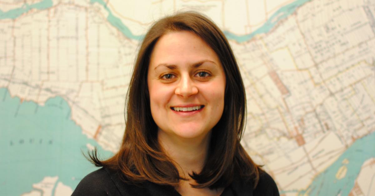 Geneviève Boisjoly, professeure adjointe au Département des génies civil, géologique et des mines.