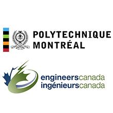 Logos de Polytechnique Montréal et d'Ingénieurs Canada