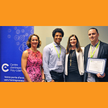 Des étudiants entrepreneurs de Polytechnique Montréal primés lors du concours Innovinc. RBC – Concrétisez 2018