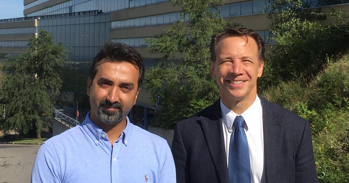 Jaber Darabi, stagiaire postdoctoral en génie chimique à Polytechnique Montréal; Gregory Patience, professeur titulaire au Département de génie chimique de Polytechnique Montréal.