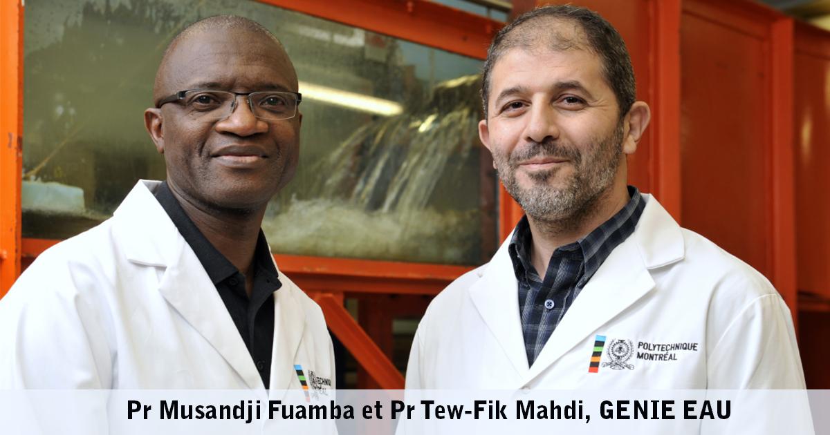 Les professeurs Musandji Fuamba et Tew-Fik Mahdi