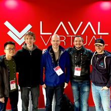Des étudiants de Polytechnique Montréal se démarquent à la compétition étudiante de la conférence internationale Laval Virtual 2019