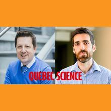 Prix du public Découverte Québec Science de l'année 2017: les professeurs Leblond et Kéna-Cohen et leurs équipes parmi les finalistes